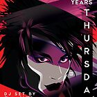 Poster for 80s Thursdays 15 Year Anniversary | Daniel Ash by caseycastille