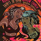 Poster for Evening of Dance Macabre | Vega Vop (Jenni Anne Clark) & Creepy B (Brynna Ashley) by caseycastille