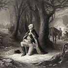 George Washington Praying by Vintage Works