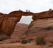 Wadi Rum, Jordan by Richard Ingelido