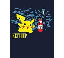 Nevermind Pikachu Photographic Print