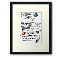 Kerbal Orbit Science 1 Framed Print