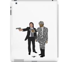 Jules and Vincent from Pulp Fiction Typography Quote Design iPad Case/Skin