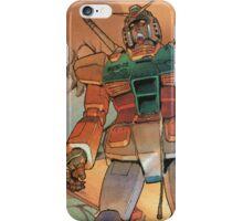 Mobile Suit Gundam iPhone Case/Skin