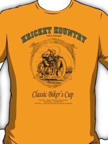 KRICKET KOUNTRY Classic Biker's Cup T-Shirt