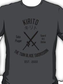 The Twin Blade Swordsman (Black) T-Shirt