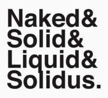 NAKED&SOLID&LIQUID&SOLIDUS Kids Clothes