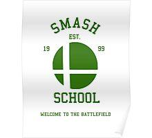 Smash School (Green) Poster