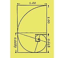 The Golden Spiral Photographic Print