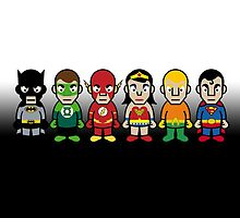 The Justice League - Cloud Nine by Sean Irvin
