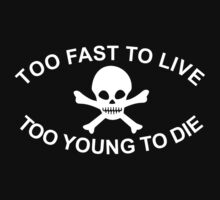 Drew Barrymore - Too fast to live by movieshirt4you