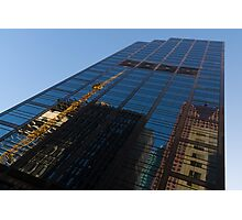 Reflecting on Skyscrapers - Downtown Atmosphere  Photographic Print
