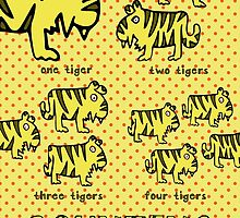 Nits for Kids - Counting Tigers by nits-for-kids
