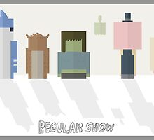 Regular Show: Design 2 by Ghipo