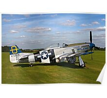 "P-51D Mustang 44-72035 ""Jumpin' Jacques"" Poster"