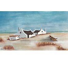 """My Pastel """"Cape Cottages""""... South Africa Photographic Print"""