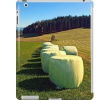 Marshmallows for cows | landscape photography iPad Case/Skin