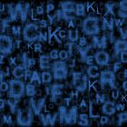 Alphabet Blue by Colin Bentham