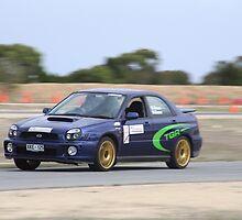 2014 Oz Gymkhana Round 1 - #21 Subaru WRX by Stuart Daddow Photography