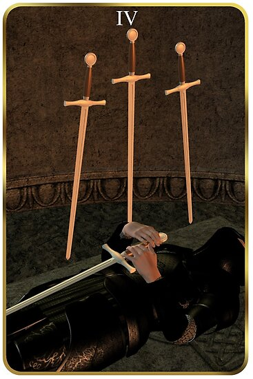 Four of Swords by Colin Bentham
