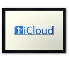 iCloud Strife Framed Print