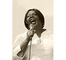 Singing With Heart & Soul Photographic Print