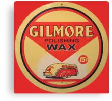 Gilmore Polishing Wax Canvas Print