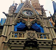 Cinderella's Castle From Below by alainabrogan