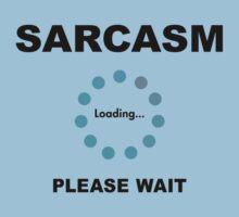 Sarcasm Kids Clothes
