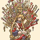 Throne of Magic - Sailor Moon by Gilles Bone
