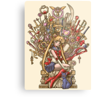 Throne of Magic - Sailor Moon Metal Print
