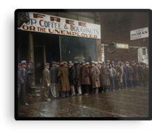 Al Capone's Soup Kitchen, Chicago, 1931 Metal Print