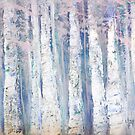 Blue Birches by Anivad - Davina Nicholas