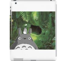 Totoro at Home iPad Case/Skin