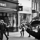 Street Music by Ellesscee