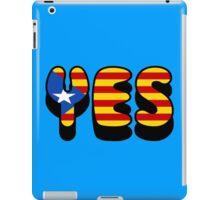 Yes Catalonia iPad Case/Skin