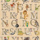 ABC Animals (with names) by busymockingbird