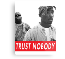 tupac and biggie Metal Print
