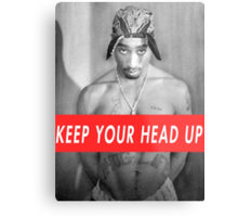 tupac motivation Metal Print