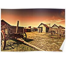 Wagon Town Poster