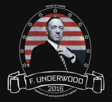Frank Underwood - House of Cards by devige