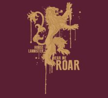 House Lannister Game of Thrones Shirt by geekoodle