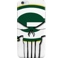 Green Bay Packers Punisher Logo iPhone Case/Skin