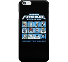 Super Freeze Fighter iPhone Case/Skin