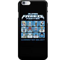 Super Freeze Fighter iPhone Case/Skin