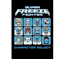 Super Freeze Fighter Photographic Print