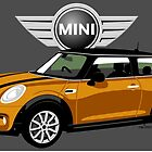 2014 Mini Cooper orange by car2oonz
