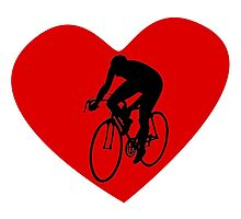 Cyclist Heart by kwg2200