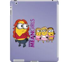 Despicable Mean Girls iPad Case/Skin