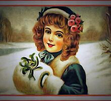 Winter Young Lady by James E. Thomas